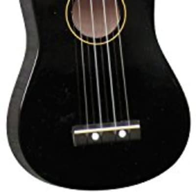 Hilo Ukuleles, 4-String Ukulele Black With Bag (2500BK-A) for sale