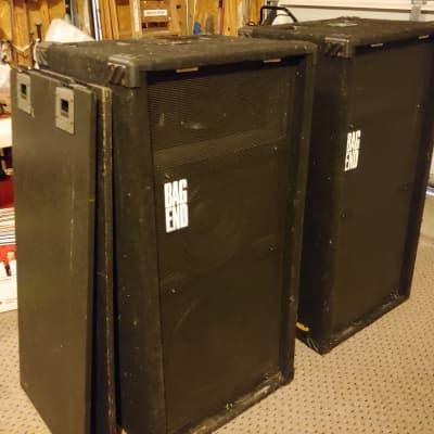 Bag End Af1 R Full Range 3 Way Pa Speakers Pair