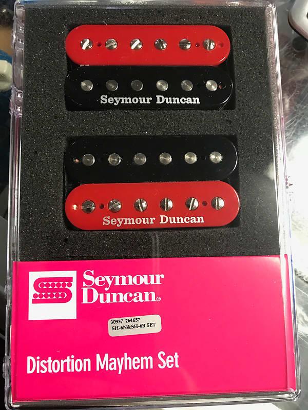 Seymour Duncan Distortion SH-6 Mayhem Black Pickup Set FREE WORLDWIDE SHIPPING