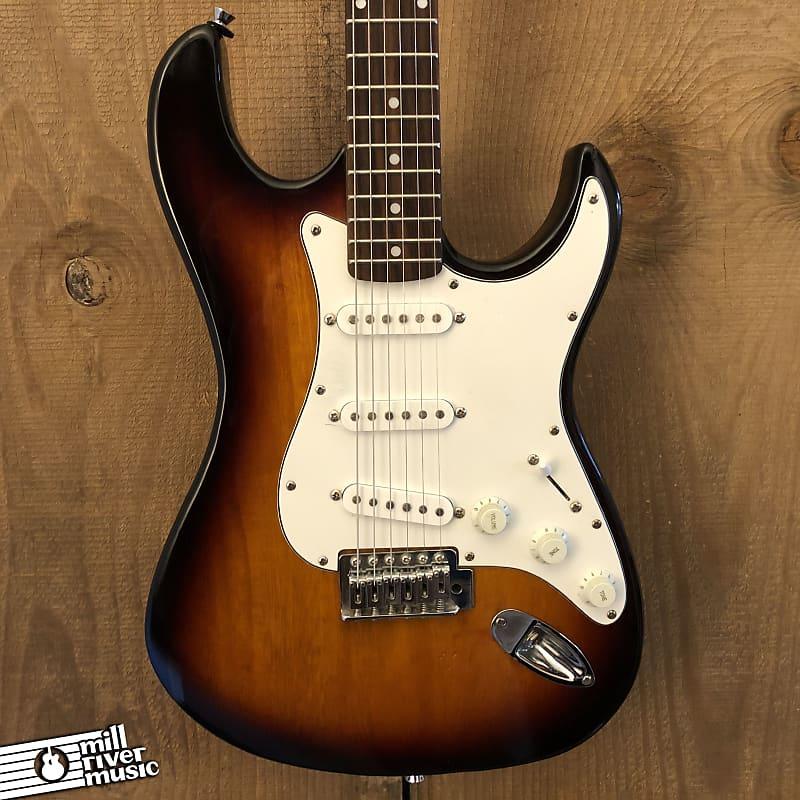 Jay Turser Stratocaster-Style Electric Guitar SSS Sunburst