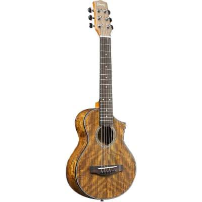 Ibanez EWP14OPN Flamed Maple / Sapele Open Pore Piccolo Guitar