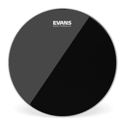 "Evans TT14HBG Hydraulic Black Drum Head - 14"""