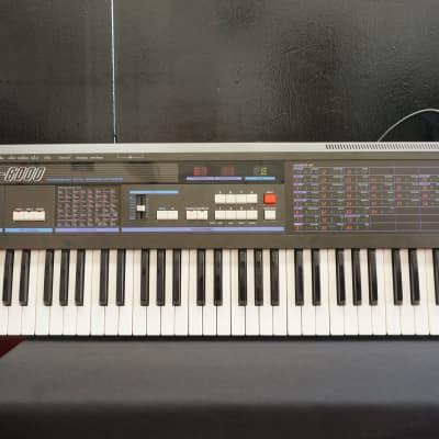 KORG DW-6000 80's Vintage Programmable Digital Waveform Synthesiser - 240V