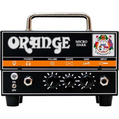 Orange Amplifiers Micro Dark 20W Tube Hybrid Amp Head Regular