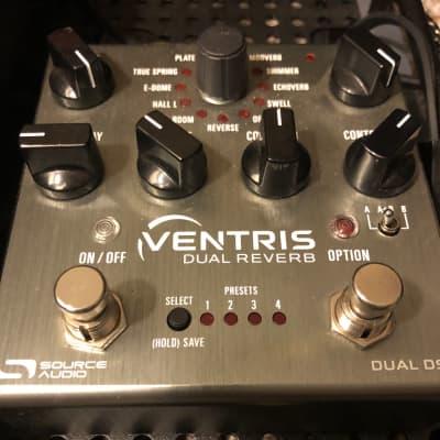 Source Audio Ventris Dual Reverb w/ Saturnworks Switcher