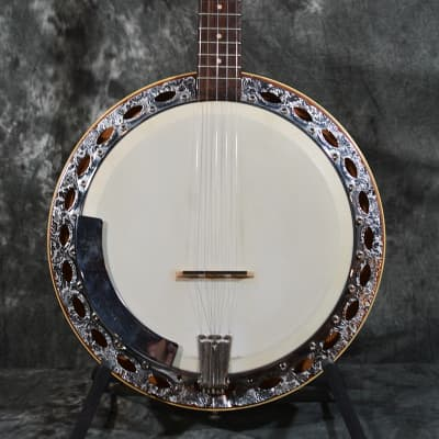 Hofner Banjo with Resonator includes a Hardshell Case w/ FREE Same Day Shipping for sale
