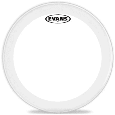 Evans SS13MS3C MS3 Clear Marching Snare Side Drum Head - 13""
