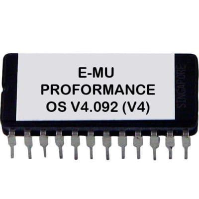E-MU Proformance Version 4.092 (4.0) OS EPROM ROM upgrade kit Emu