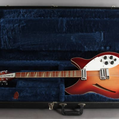 1989 Rickenbacker 360/12v64 12-String Fireglo Electric Guitar for sale