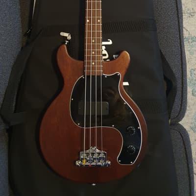Gibson Les Paul Junior Tribute DC Bass 2019 Worn Brown