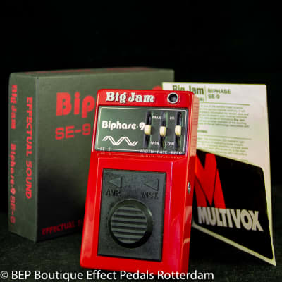 Multivox Big Jam SE-9 Biphase 9 late 70's s/n 01585 Japan for sale