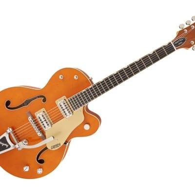 Gretsch G6120SSLVO Brian Setzer Nashville w/Bigsby Hollowbody Electric Guitar - Ebony/Vintage Orange Stain - 2400117822