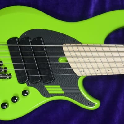 Dingwall NG-3 (6-STRING), LIMITED Ferrari Green With Maple Fingerboard. *IN STOCK!! for sale