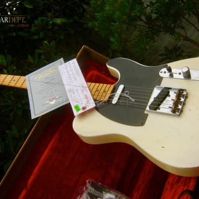 ♚MINT♚ 2010 FENDER Custom Shop 1951 NOCASTER RELIC Telecaster ♚7.7 LBS♚Slim '52  Neck!♚51*63♚AMAZING for sale