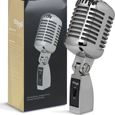 Professional vintage style cardioid dynamic microphone with cartridge DC04