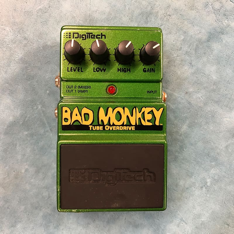 DigiTech DBM Bad Monkey Tube Overdrive Effects Pedal