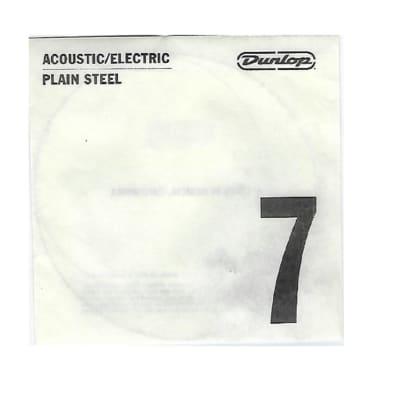 Dunlop DPS07 Single Replacement String .007 Gauge Plain Steel