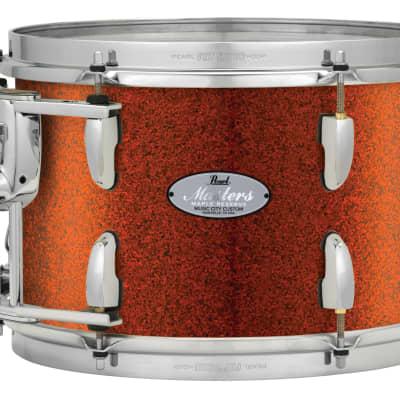 "Pearl Music City Custom 13""x11"" Masters Maple Reserve Series Tom Drum w/optimount MRV1311T - Burnt Orange Glass"