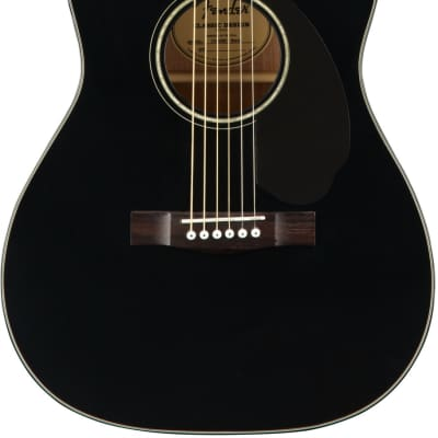 Fender CC-60SCE Black Acoustic Guitar for sale