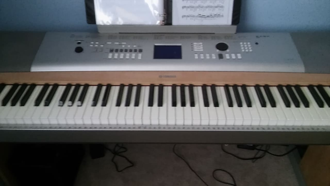 yamaha ypg 625 portable grand 88 key keyboard reverb