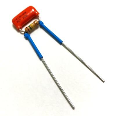 Guitar Treble Bleed Circuit .001µF Orange Drop Cap & 150K Resistor