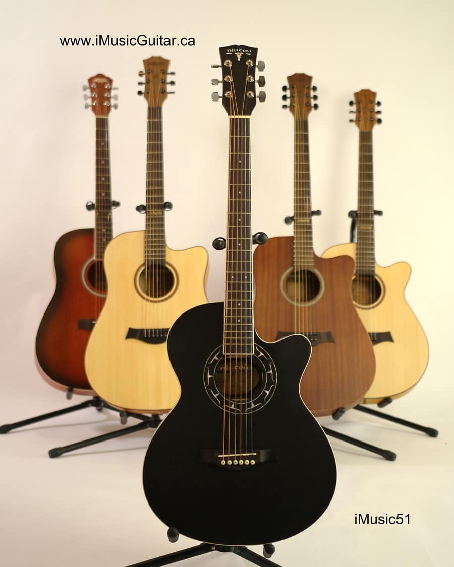 factory error music51 black acoustic guitar brand new reverb. Black Bedroom Furniture Sets. Home Design Ideas