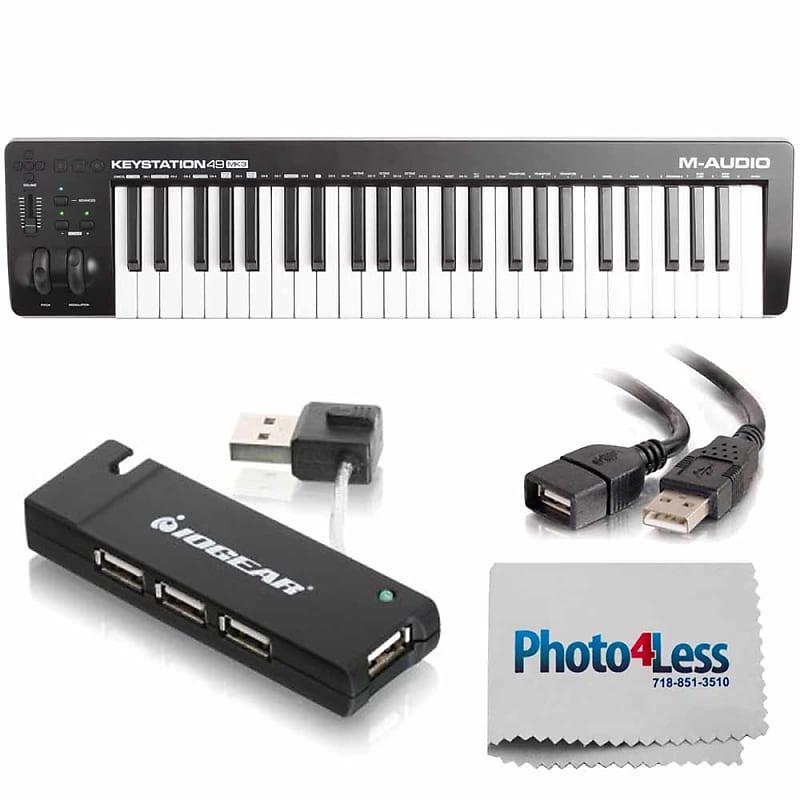 M-Audio Keystation 49 MK3 49-Key USB-Powered MIDI Controller + Accessories