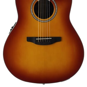Ovation Applause Balladeer Acoustic Electric Guitar - Honey Burst for sale