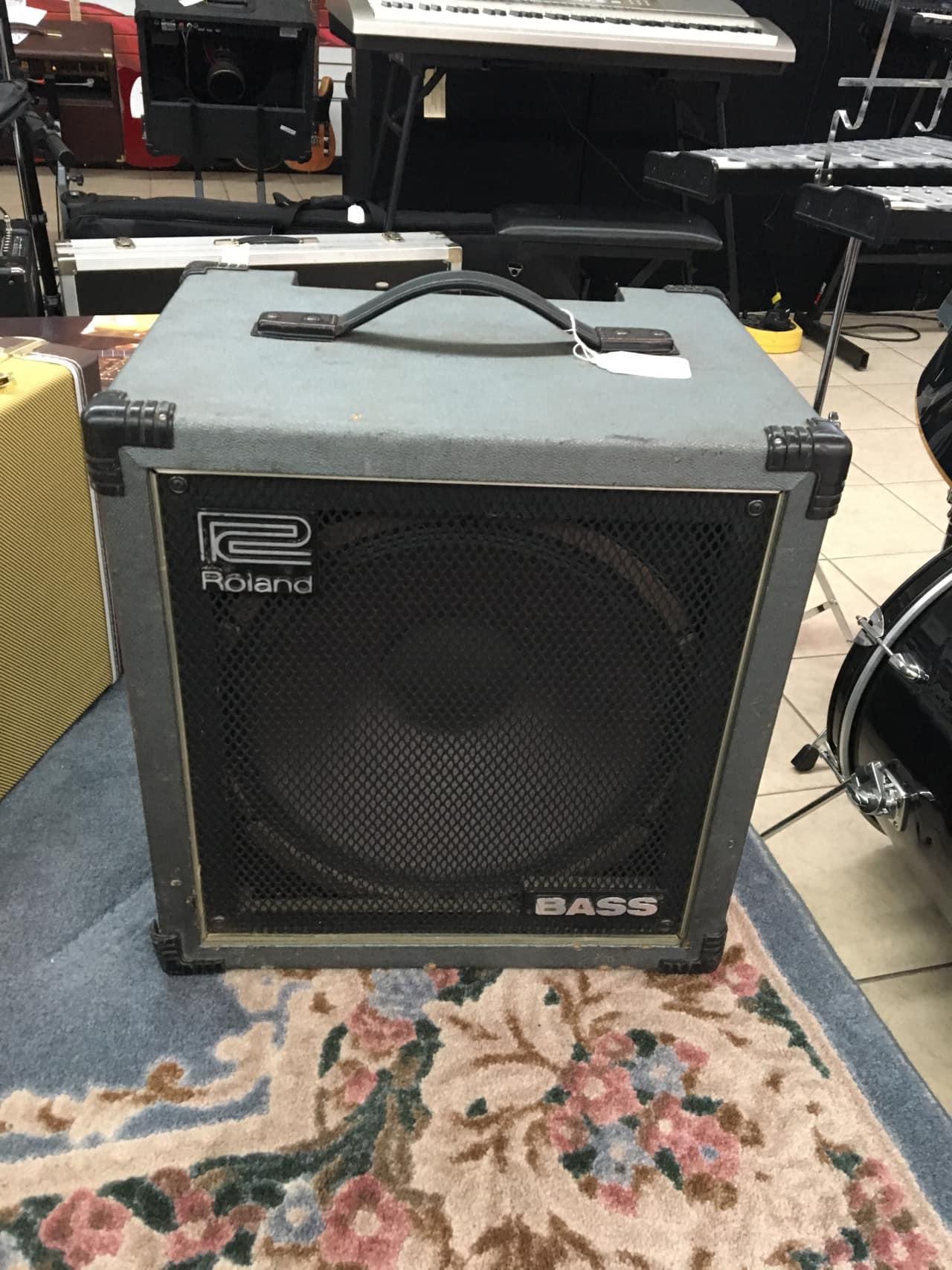roland super cube 100 bass amp 100w reverb. Black Bedroom Furniture Sets. Home Design Ideas