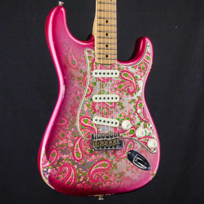 Fender Custom Shop LTD '68 Paisley Pink Stratocaster Relic, Hardcase for sale