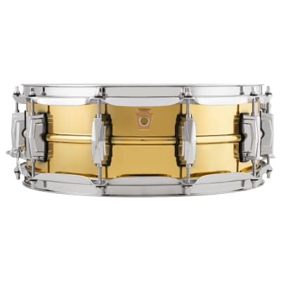 """Ludwig LB401 Super Brass Reissue 5x14"""" Snare Drum"""