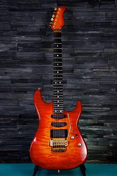 valley arts guitar custom pro 7 8s luke model 1990 92 reverb. Black Bedroom Furniture Sets. Home Design Ideas