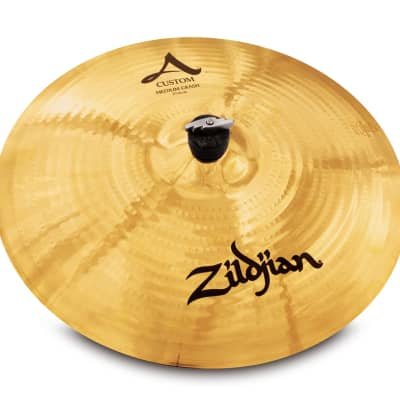"Zildjian 17"" A CUSTOM MEDIUM CRASH Cymbal A20827"