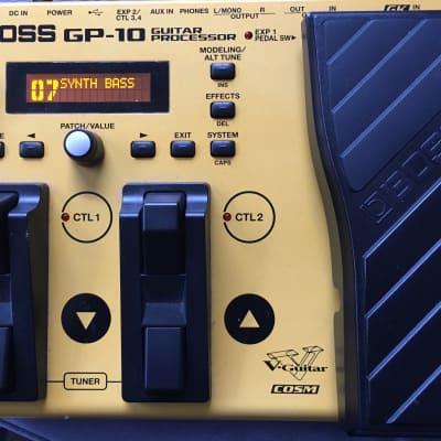Boss GP-10 Guitar Processor Multi-Effect Unit w/ GK-3 Pickup