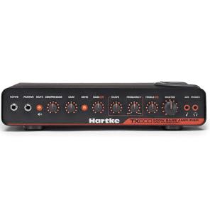 Hartke TX600 600W Lightweight Bass Guitar Amplifier Class D Tube Preamp Amp Head for sale