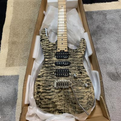 Harley Benton Fusion-HSH MN Charcoal 2019 Charcoal Flame for sale