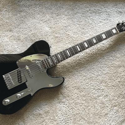 Fender Deluxe Series Big Block Telecaster Black