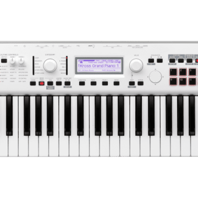 Korg KROSS 2 61 Synthesizer Workstation Blanc