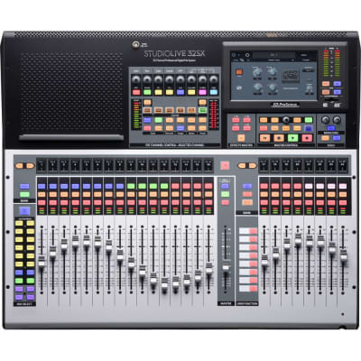 PreSonus StudioLive 32SX Compact 32-Channel Digital Mixer and USB Audio Interface