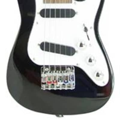 Vorson S Style Guitarlele with Bag Gloss Black for sale