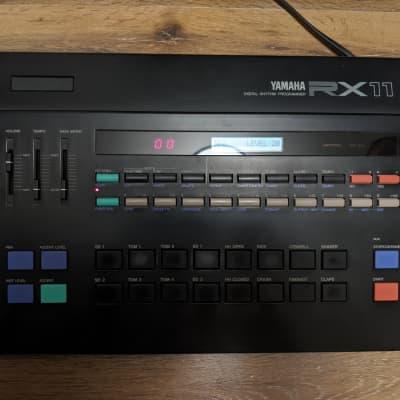 Yamaha RX11 Digital Rhythm Vintage Programmer Drum Machine 80's