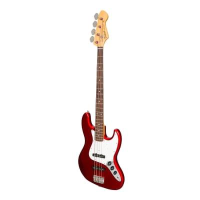 Tokai Vintage Series AJB97 'Jazz Sound' J-Style Electric Bass (Metallic Red) for sale