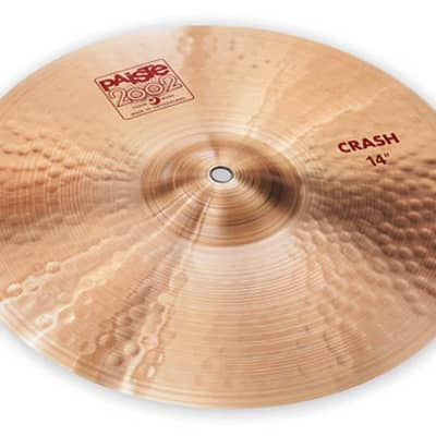 Paiste 14-inch 2002 Crash Cymbal - 697643100022