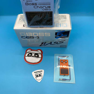 Boss CEB-3 Bass Chorus w/Original Box | Fast Shipping!