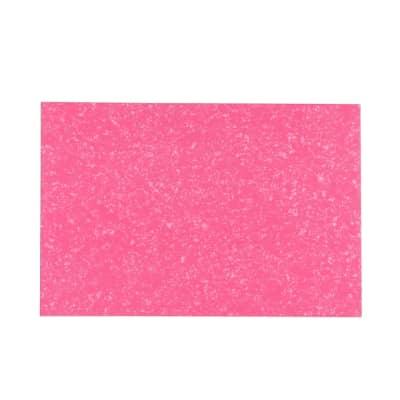 FLEOR 1PCS 4Ply PVC&Celluloid Blank Pickguard Material Sheet, Light Pink Pearl 16.9x11.4x0.09 in