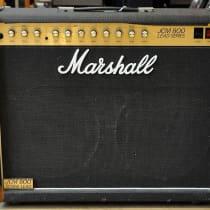 Marshall JCM 800 Lead Series Model 4212 50-Watt Master Volume 2x12 Combo 1980s Black image