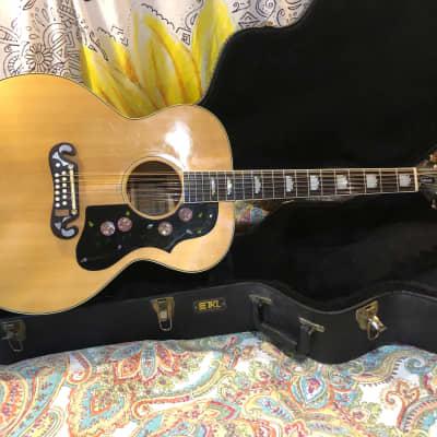 Ibanez Concord 698 12M 12 String lawsuit Jumbo Vintage MIJ Acoustic Guitar w Case Barcus Berry for sale