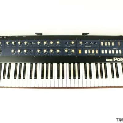 KORG POLYSIX Vintage Synthesizer Keyboard Poly-6 METICULOUSLY Refurbished & Future-Proofed by Dealer