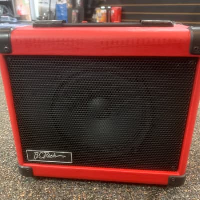 B.C. Rich BCNS10 Insinerator Combo Amplifier  Red for sale