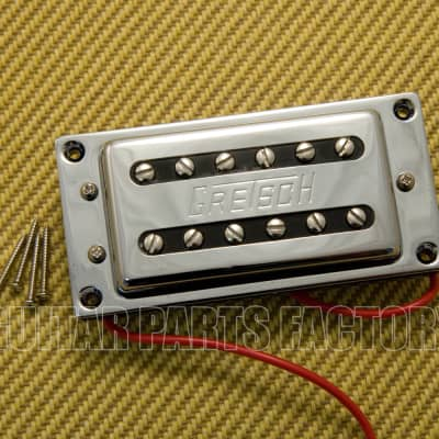 006-9820-000 Gretsch Chrome Duo Coil Neck Pickup G5120 G5122 Electromatic